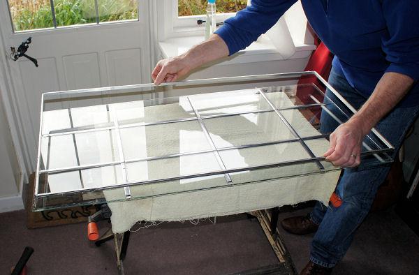 Pose de fenêtre, baie vitrée, mise en sécurité